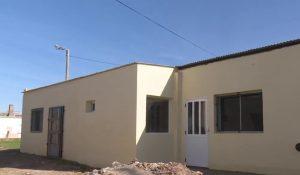 Se retoma la obra en las casas del Barrio Villa Italia Tres Arroyos