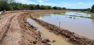 Formosa obras que adecúen el cauce del desborde del río Pilcomayo