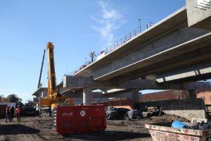 Las obras del Viaducto San Martín siguen demoradas