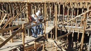 Un 45% de las obras están con «desarrollo normal» según la cámara del sector