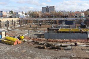 Complejo Judicial de Cipolletti: Dinale-Pecam construyen el piso de la planta baja