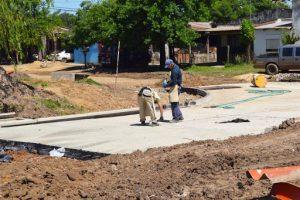 Dos oferentes a la licitación para la compra de materiales para obra en avenida 25 de mayo y arroyo Yacaré