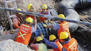 San Juan lleva adelante más de 50 obras para asegurar el abastecimiento de agua potable y el saneamiento