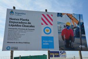 Dycasa Inicia la construcción de planta cloacal en Concepcion – Tucuman