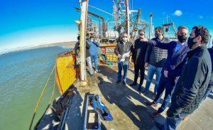9548 Chubut llama a licitación para la ampliación de 50 metros más del Muelle del Puerto Rawson