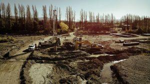 Pedernal: en la pandemia la obra del puente tuvo el mayor avance