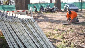 Municipalidad de Santa Fe Se retomaron los trabajos en el desagüe Espora