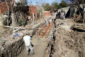 Tres propuestas para la obra de desagües pluviales en barrio Paraná XIV