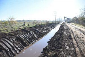 Chacabuco PF Construcciones reinicia las obras en El Mojón