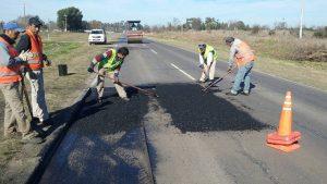 Reconstrucción de calzada en intersecciones semaforizadas en zona urbana de Cañada de Gómez $ 75 Millones