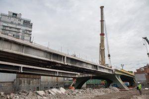 """Viaducto San Martín: Debido a la pandemia """"no es prioridad"""" terminar las estaciones Villa Crespo y La Paternal"""