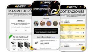 App para calcular materiales y ver precios