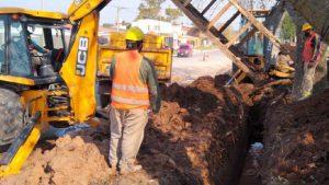 Ingeniero Quaranta avanza la ejecución del Colector Cloacal Sudeste en Parana