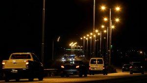 Iluminarán la RP60 desde la presa del dique de Ullum al cementerio departamental $ 44 Millones