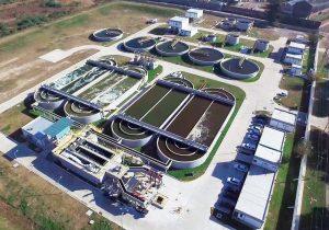 Construcción de la planta de tratamiento de cloacales en Paraná