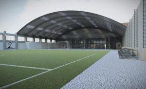 Construirán un polideportivo en la Villa 31
