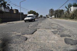 Reactivan una repavimentación en cinco barrios de Concepción