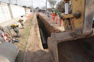 Cloacas en Villa El Libertador: se presentaron 10 oferentes para ejecutar la segunda etapa de la obra $ 427 Millones