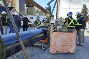 Estación de bombeo e impulsión del Sistema de Desagües Cloacales de Pilcaniyeu 3 Ofertas $ 11 Millones