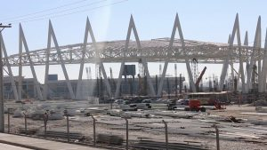 La obra del Velódromo de San Juan, casi a la mitad: ¿se inaugura en 2021 o en 2022?