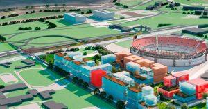 Parque de la Innovación: Ciudad impulsa demoliciones en el ex Tiro Federal y la apertura de calles $ 1.204 Millones