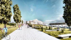 Parque de la Ciudad Comodoro Rivadavia: una obra para la integración de la vida social
