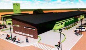 Ofertas para construir el nuevo hospital de Ramos Mexía $ 135 Millones
