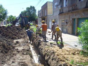 13 ofertas obra de cloacas de la ciudad de Funes por $140 millones