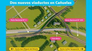 Anunciaron la creación de dos viaductos en Cañuelas