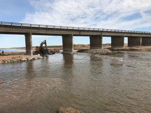 Tres oferentes se presentaron para reparar el puente de ruta 6 sobre el río Salado