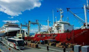 Ampliación del muelle comercial del Puerto de Ushuaia