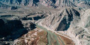El Tambolar, a toda máquina: Uñac observó el avance de las obras de la nueva presa