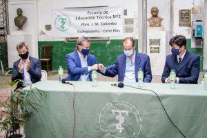 Cuatro ofertas para las obras en la Escuela Técnica Nº 2 Colombo – Gualeguaychu $ 200 Millones