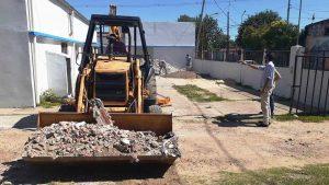 IC Constructora comenzó la obra del Microcine en el barrio 30 de Octubre de Concepción del Uruguay