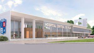 Lanzan la licitación para la construcción del Hospital Central $ 450 Millones