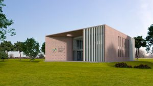 16 ofertas para construir el edificio central del campus de la UNRaf $ 315 Millones