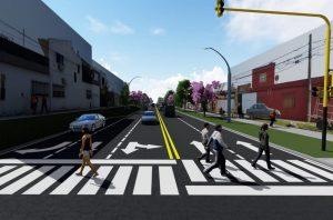 Se adjudicó a Demartín la obra de repavimentación, ensanche y desagües de calle Rondeau $ 73 Millones