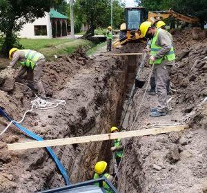 COCYAR Comienza las obras cloacales en los barrios General Obligado y Villa Clelia $ 130 Millones