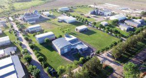 Edeca realizo el 32% de las obras en el Parque Industrial Gálvez
