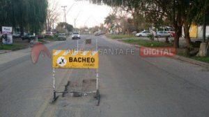 6 Ofertas para bacheo de hormigón de cinco avenidas troncales de Santa Fe $ 17 Millones