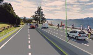 Dos ofertas para refuncionalizar, repavimentar y ampliar la Avenida Bustillo de Bariloche $ 714 Millones