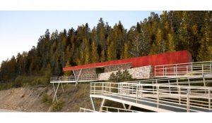 """Licitan la construcción de los """"Miradores Valles Fueguinos"""" $ 42 Millones"""