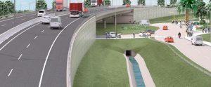 Construcción del viaducto sobre elevado en la intersección de la avenida circunvalación Gendarmería Nacional sobre la ruta nacional N°11 Formosa $ 861 Millones