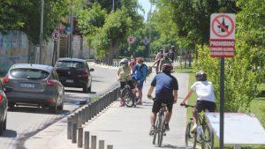 Construirán una bicisenda en las calles Bahía Blanca y Entre Ríos de Neuquén