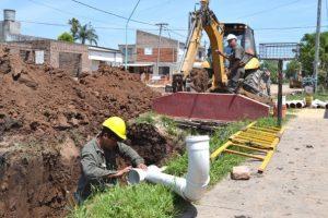 Pilatticomienza obra de cloacas en el barrio Antártida Argentina $ 110 Millones