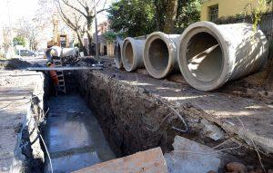 Licitan la obra de desagües pluviales de un barrio de Villa del Rosario $ 44 millones
