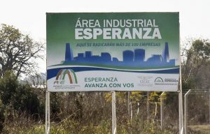 5 oferentes para la obra de desagües pluviales Área industrial Mixta de Desarrollo de Esperanza $ 100 Millones