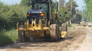 Reano Comenzó la obra de pavimentación en el barrio Estrada – San Pedro $ 42 Millones