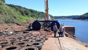Licitan la nueva toma de agua para Puerto Iguazú Arroyo M BOCAY $ 190 Millones