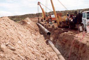 HIDENESA será la encargada para trasladar una línea de gasoducto